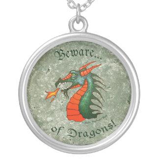 Beware of Dragons Necklaces