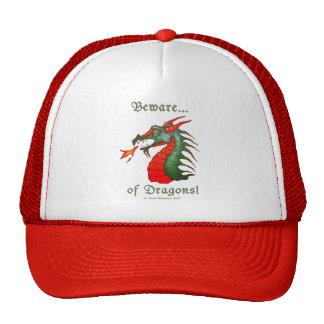 Beware of Dragons Trucker Hat