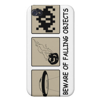 Beware of Falling Objects iPhone 4 Case