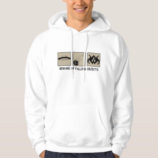 Beware of Falling Objects Men's Hoodie Sweatshirt
