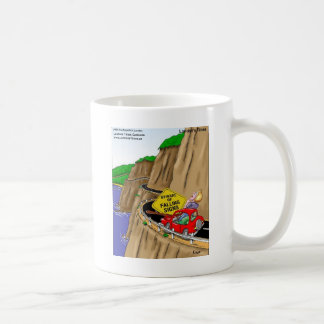 Beware Of Falling Signs Funny Gifts Cards Tees Etc Coffee Mug