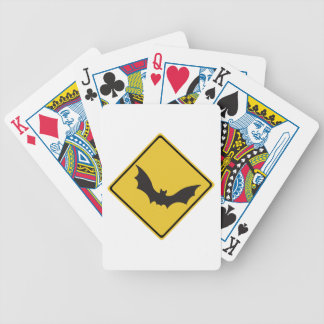 Beware of Flying Foxes, Traffic Warning Sign, AU Playing Cards