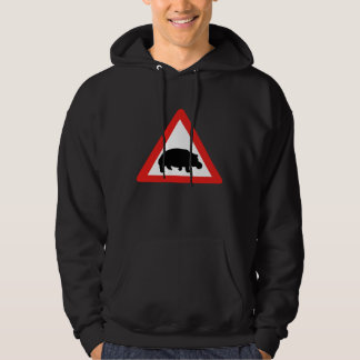 Beware of Hippopotamuses, Traffic, South Africa Hoodie