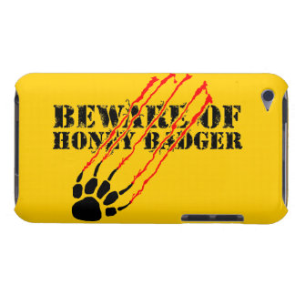 Beware of honey badger barely there iPod cover