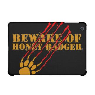 Beware of honey badger iPad mini case