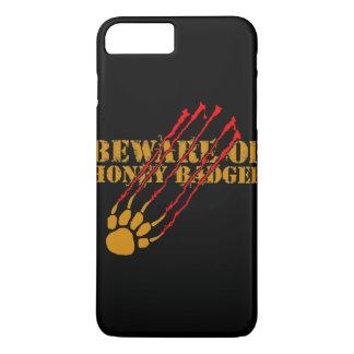 Beware of honey badger iPhone 8 plus/7 plus case