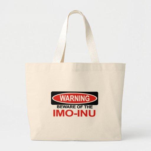 Beware Of Imo-Inu Canvas Bag