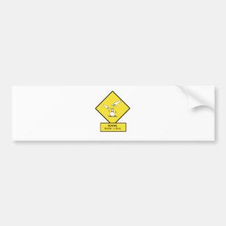beware of kenders car bumper sticker