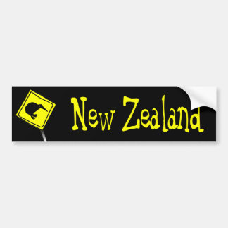 Beware of Kiwis Bumper sticker Car Bumper Sticker