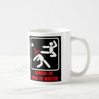 Beware of Kung Fu master Classic White Coffee Mug