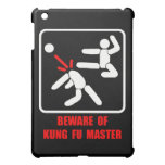 Beware of kung fu master iPad mini case