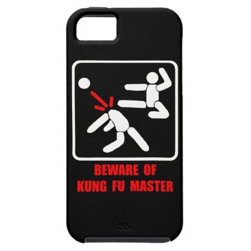 Beware of Kung Fu master iPhone 5 Cover