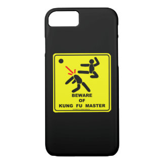 Beware of Kung Fu master iPhone 8/7 Case