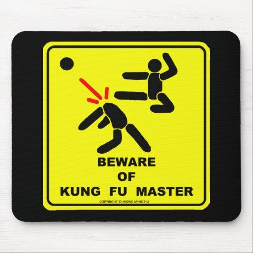 Beware of Kung Fu master Mouse Pad