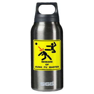Beware of Kung Fu master Thermos Bottle