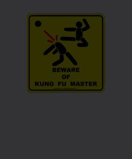 Beware of Kung Fu Master T-shirts