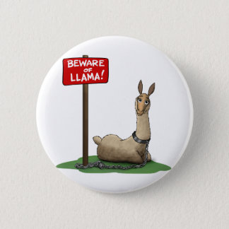 Beware of LLama! Button
