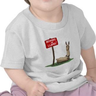 Beware of LLama! Shirts
