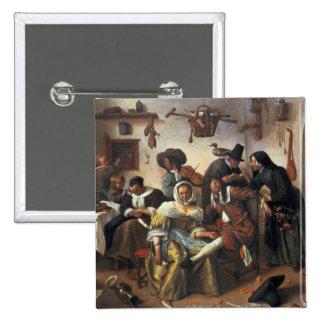 Beware of Luxury, c.1663 Pinback Button