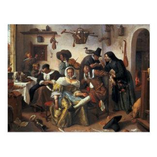 Beware of Luxury, c.1663 Postcard