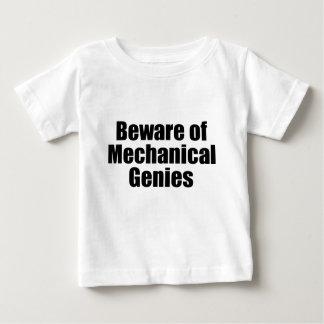 Beware of Mechanical Genies Baby T-Shirt