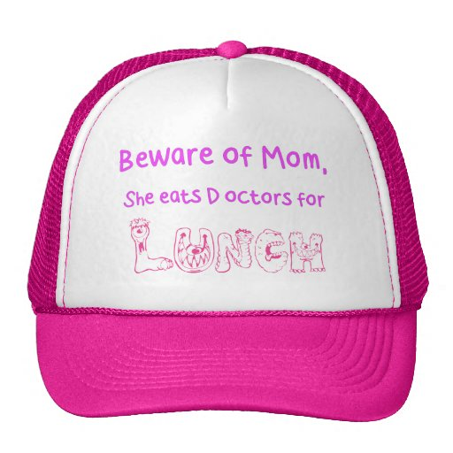 Beware of Mom Trucker Hat