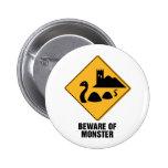 Beware Of Monster Button