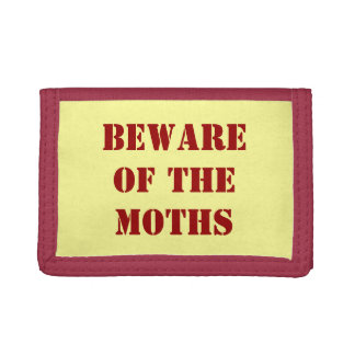Beware of Moths Wallet