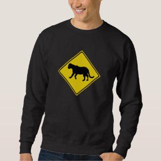 Beware of Panthers, Everglades, Florida, USA Sweatshirt
