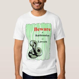 Beware of Rattlesnakes Shirt