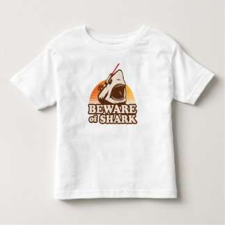 Beware of Sharks with Frickin' Laser Beams Toddler T-shirt