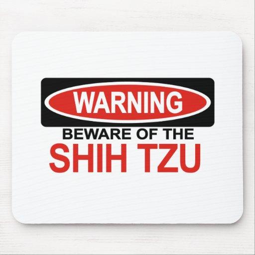 Beware Of Shih Tzu Mouse Mat