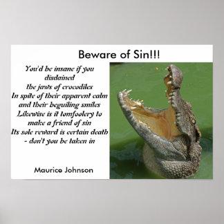 Beware of Sin Poster