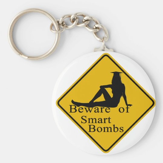 Beware of smart bombs keychain