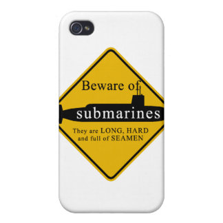 Beware of Submarines iPhone 4 Case