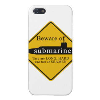 Beware of Submarines iPhone 5 Covers