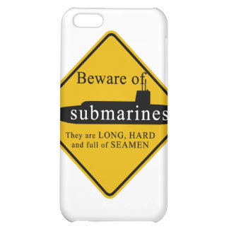Beware of Submarines iPhone 5C Cases