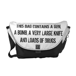 bEWARE oF tHE bIG bAG Courier Bag