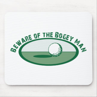 Beware of the Bogey Man Mouse Pad