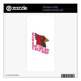 Beware of the Cardinals Skins For iPhone 4
