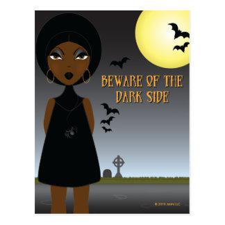 Beware of the Dark Side Postcard