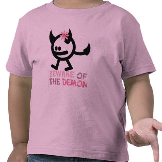 beware of the demon t-shirt