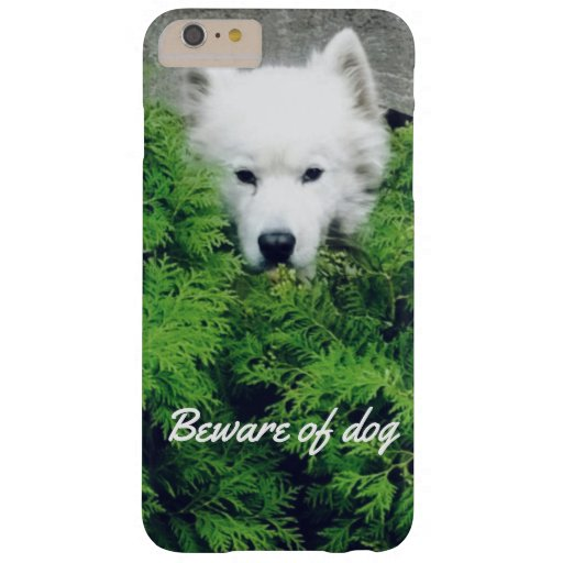 Beware of the dog barely there iPhone 6 plus case