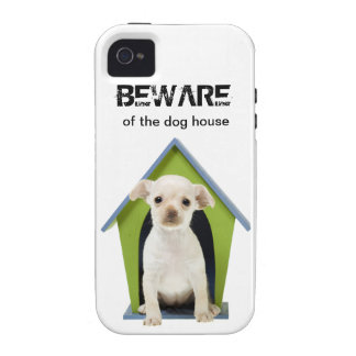 BEWARE of the Dog House iPhone Case iPhone 4/4S Covers