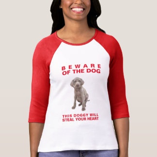 Beware of the Dog-This Doggy Will Steal Your Heart T-Shirt