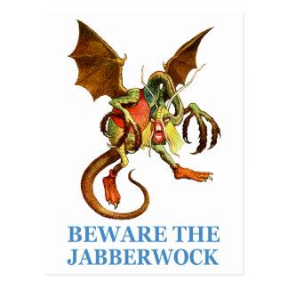 BEWARE OF THE JABBERWOCK POSTCARDS