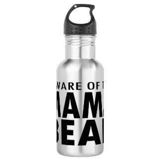 Beware of the Mama Bear Water Bottle