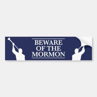 Beware of the Mormon Bumper Sticker
