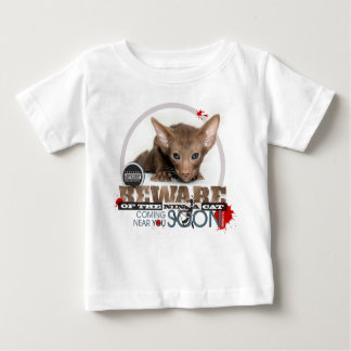 Beware of the Ninja Cat Baby T-Shirt