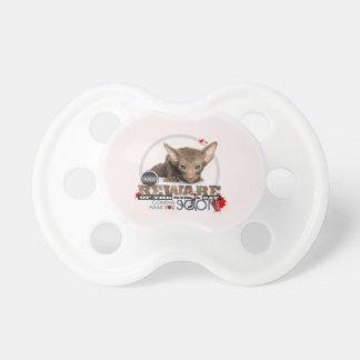 Beware of the Ninja Cat Pacifier